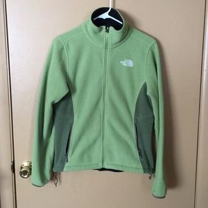 North face zip up sweater/jacket